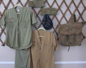 Vintage Boy Scouts of America Uniforms Clothing Lot