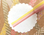 Washi Tape: Strawberry Lemonade