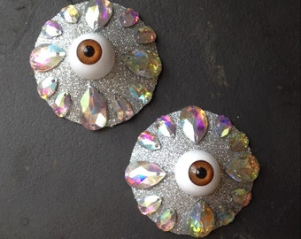 Eyeball Nipple Tassels