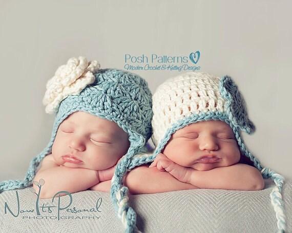 Crochet PATTERN - Baby Crochet Patterns - Crochet Hat Pattern - Baby Hat Pattern - PDF Pattern - Baby, Toddler, Kids, Adult Sizes - PDF 189