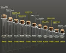 10PCS 22mm dia. tiny glass bottles small glass bottles empty small bottles wholesale, tiny bottles with corks 100225