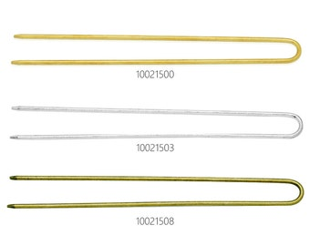 10PCS 13*130MM U Shape Hair Sticks Hair Clips, hairpin legs 100215