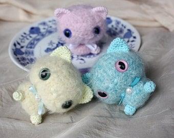 Amigurumi Tiny Cat Pattern - PDF Crochet Tutorial - Instant Download - In English