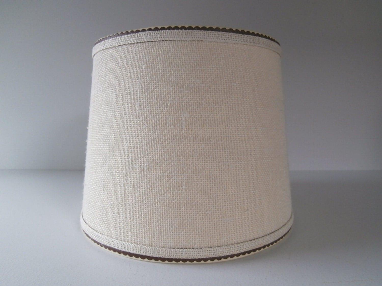 Toile de jute blanc abat jour pour lampe abat jour de tissu - Tissu pour abat jour ...