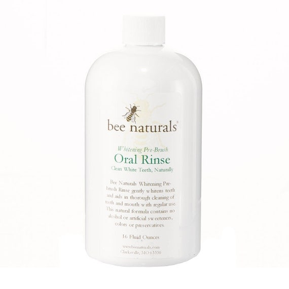 Whitening Oral Rinse by Bee Naturals