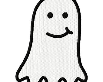 Halloween Ghost Embroidery Design - Instant Download