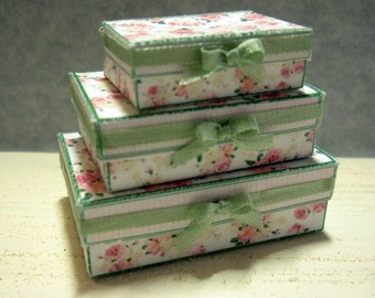Set of 3 Miniature Boxes