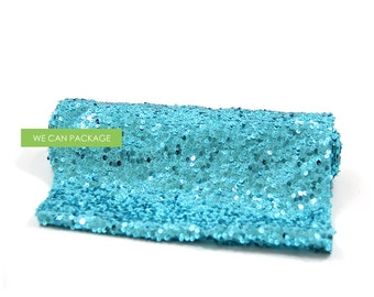 """Turquoise Sequin Table Runner 12"""" x 96"""""""