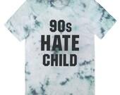 90s Hate Child tie dye T-shirt UNISEX sizes S M L XL