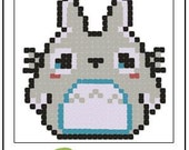 Pattern - Inspired Totoro Crochet Rug