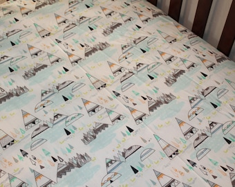 Fitted Sheet - Indian Summer, Crib, Twin, Bed Sheet