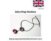 Polymer Clay, Tutorial, Howto, DIY necklace, Polymer tutorial, Zebra print cane, PDF tutorial, step by step, beads tutorial, english version