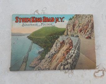 Souvenir Folder of the Storm King Road New York
