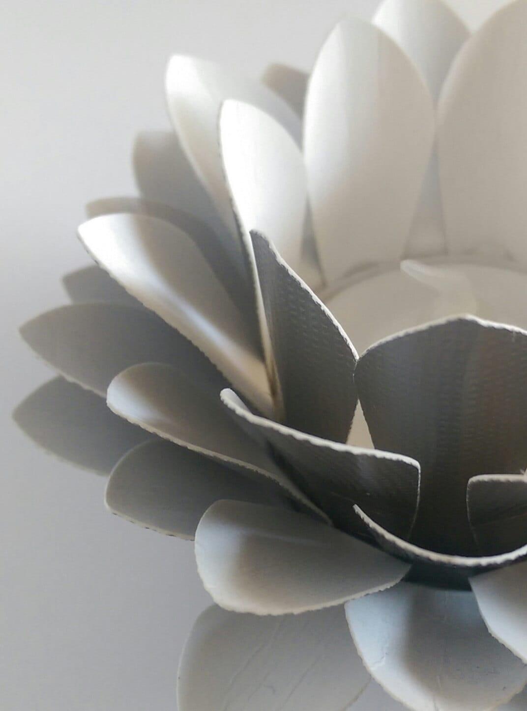 Wedding Centerpiece Paper Flower Decor Tealight Holder