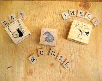 Rubber stamps scrapbooking