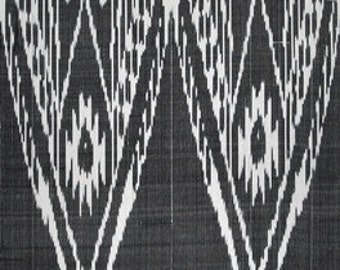 SALE! Ikat Fabric, Ikat Fabric by the yard, Hand Woven Fabric , F-A318