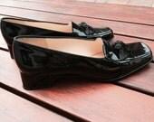 Reserved for Dorothie, Salvatore Ferragamo ladies 8 1/2 black shoes