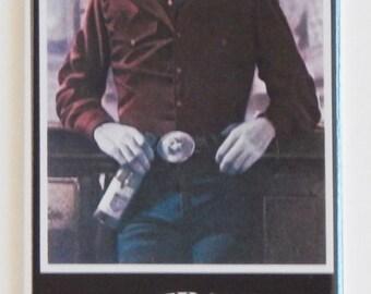 Urban Cowboy Movie Poster Fridge Magnet (1.5 x 4.5 inches)