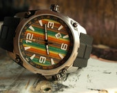 Unique Gifts for Men - Skateboard Gifts - Wooden Wrist Watch - Made in Canada