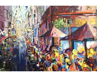 Oil Painting Paris