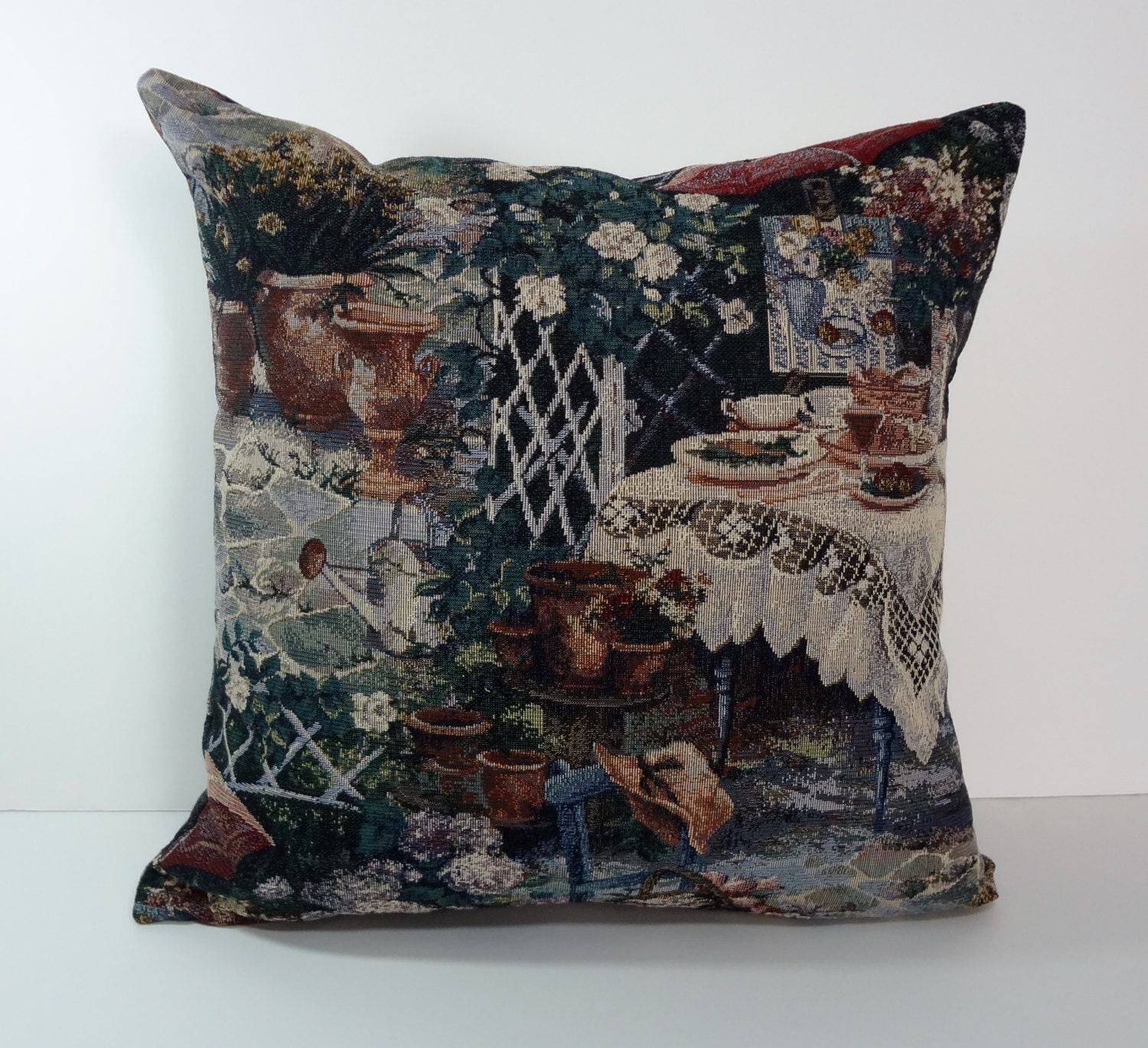 Victorian Pillow Cover Decorative Pillow Cushion Cover