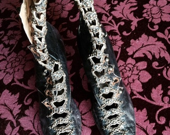 Stunning Beaded Victorian Boots