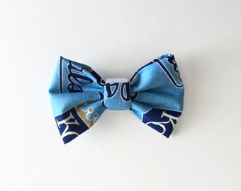 PET BOW: Kansas City Royals Inspired Pet Bow for Dogs or Cats // Gifts for Dogs // Dog Bow Tie // Pet Bow Tie