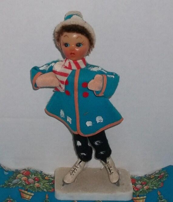 Vintage ice skater Marketa Morgan