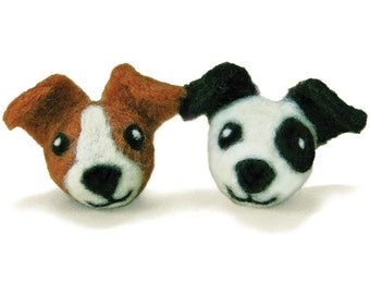 Dimensions Dogs Round and Wooly Needle Felting Kit
