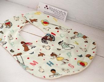 Handmade ABC Baby Toddler Bib