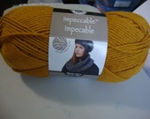Yarn Wool Gold Loops and Threads Impeccable Knitting Crocheting Yarn Art
