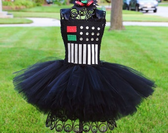 Darth Vader Short Tutu Dress