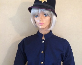 20's female keystone cop costume roaring twenties police uniform