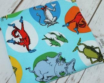 Food Safe Reusable Sandwich Bag in Celebrate Seuss