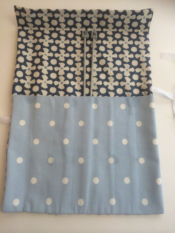 Knitting Needle Roll Organiser Sewing Diy Kit Make Your Own From