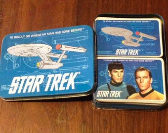 Vintage Collectible Star Trek Enterprise  Playing Cards