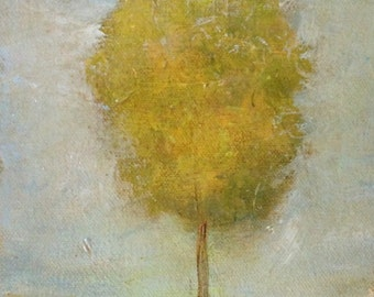 Spring Tree Abstract Painting