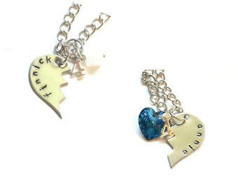 Finnick & Annie Lovers/Best Friends Necklaces