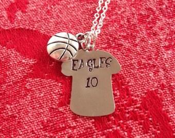 Sports Jersey Necklace