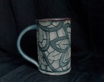 Blue Lace coffee or tea mugs