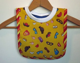 Baby Bib- Small Pull Over Baby Bib for Babies and Toddlers-s0021