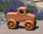 Monster Truck, Toy Truck, Heirloom, Handmade