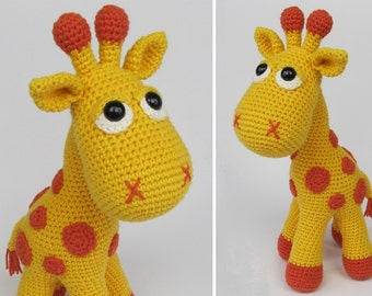 Giraffe Neli - Amigurumi Crochet Pattern / PDF e-Book / Stuffed Animal Tutorial