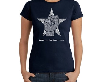 Women's T-shirt - Steve Jobs - Here's to The Crazy One's