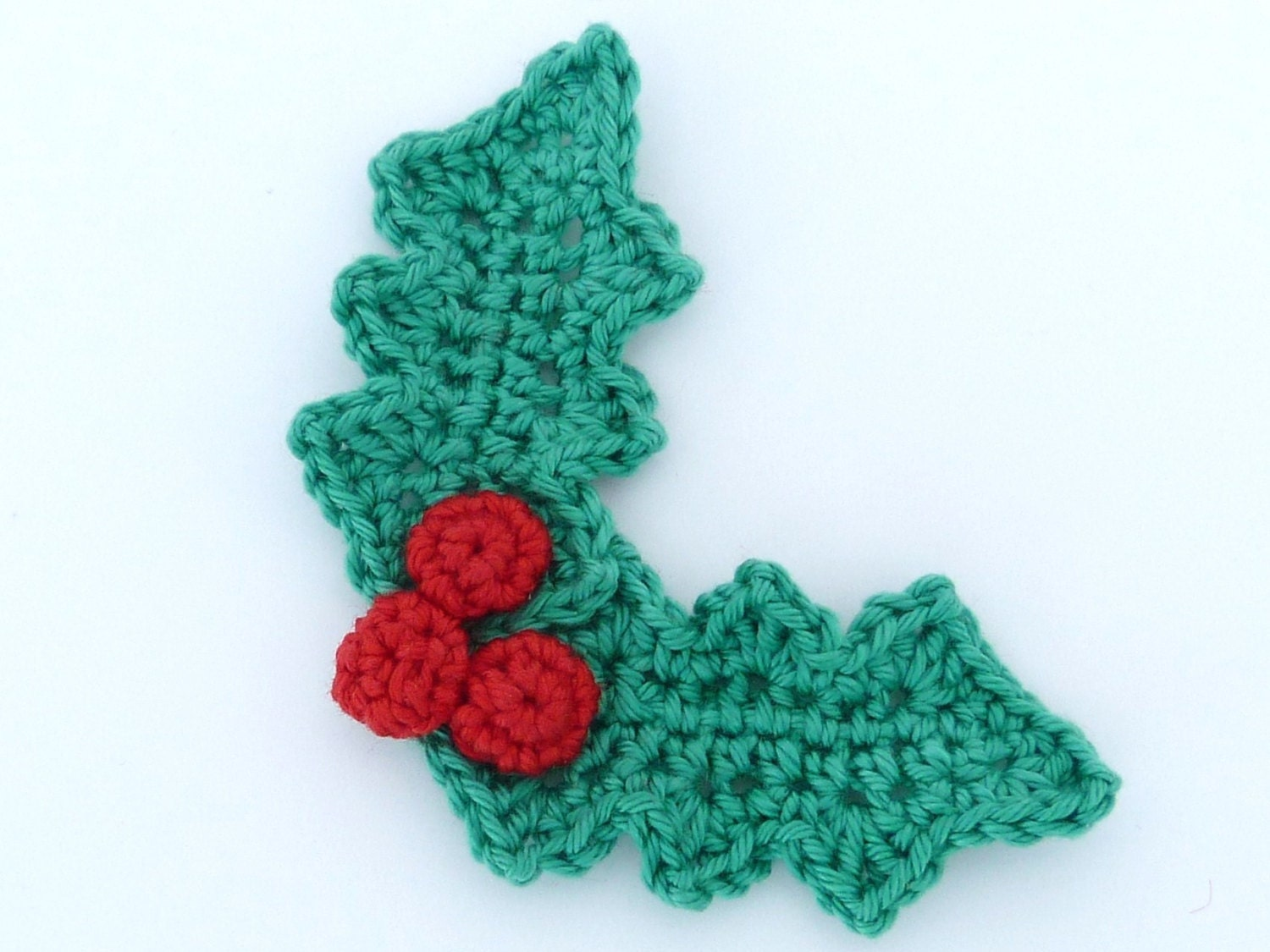 Leaves Pattern Crochet Crochet Holly Leaves And 3