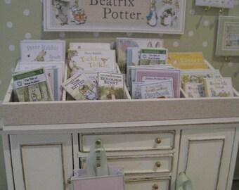 DOLLHOUSE NURSERY Book Display