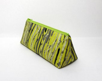 SALE- Pencil Case, Through the Trees, Art Case, One of a Kind