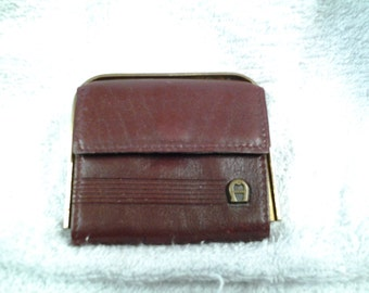 Vintage Aigner  Coin Purse