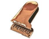 Grand Piano Door Knocker in Vintage Brass