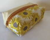 Sunflowers and Sunshine Zippered Bag